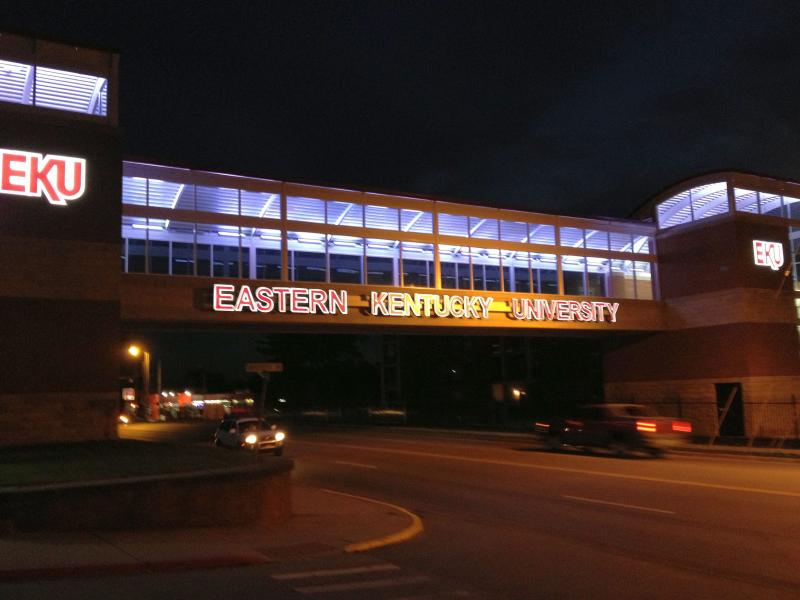 New pedway links new, privately-developed student housing complex with EKU's Richmond campus.