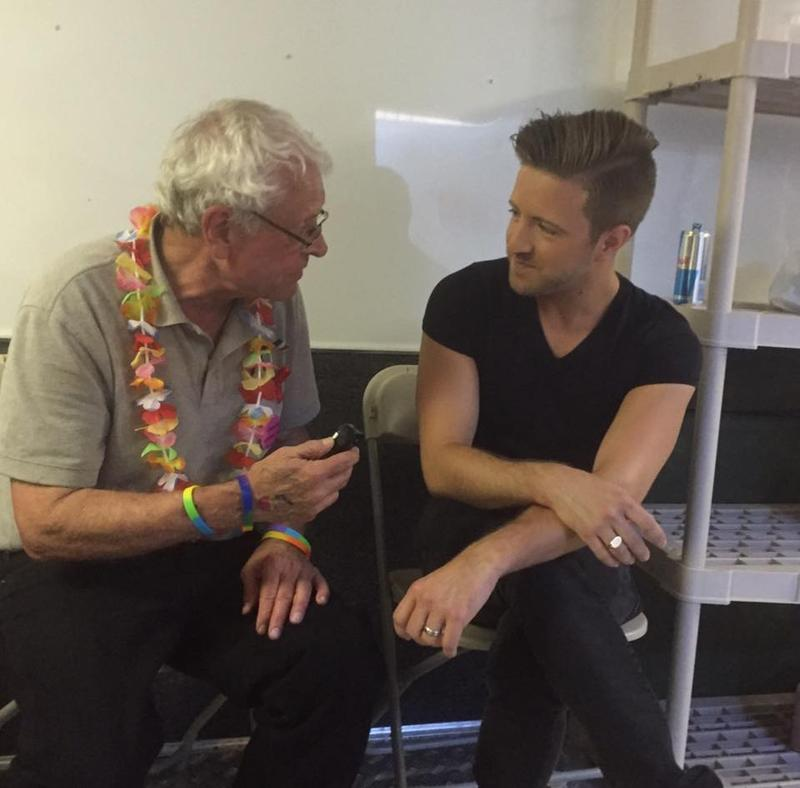 WEKU's John Hingsbergen spoke with Billy Gilman backstage at Lexington Pride 2016