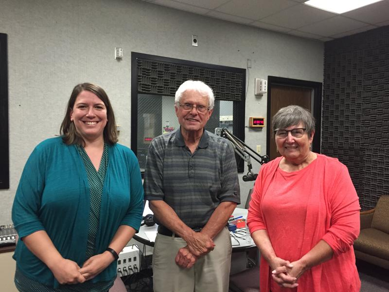 Kelly Smith of the EKU Library, Host John Hingsbergen, and Kathy Rather of Unique Books were live in the studio for the Eastern Standard discussion on the book and print business.