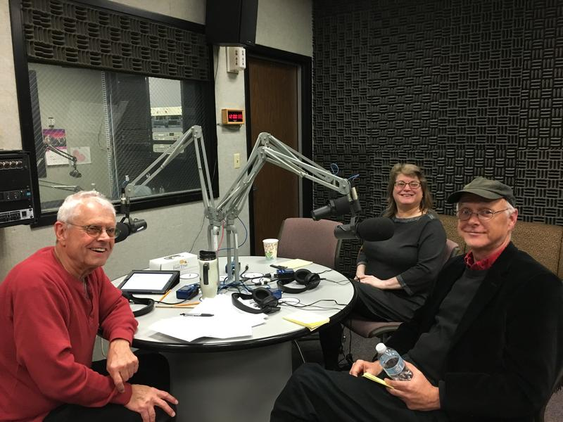 Host John Hingsbergen chats with Dr. Pamela Parry of Eastern Kentucky University Communications and Joel Pett, political cartoonist at the Lexington Herald-Leader about challenges to journalism.