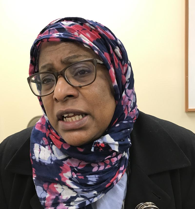 Waheedah Muhammad is chair of the Kentucky Chapter of  the Council on American-Islamic Relations