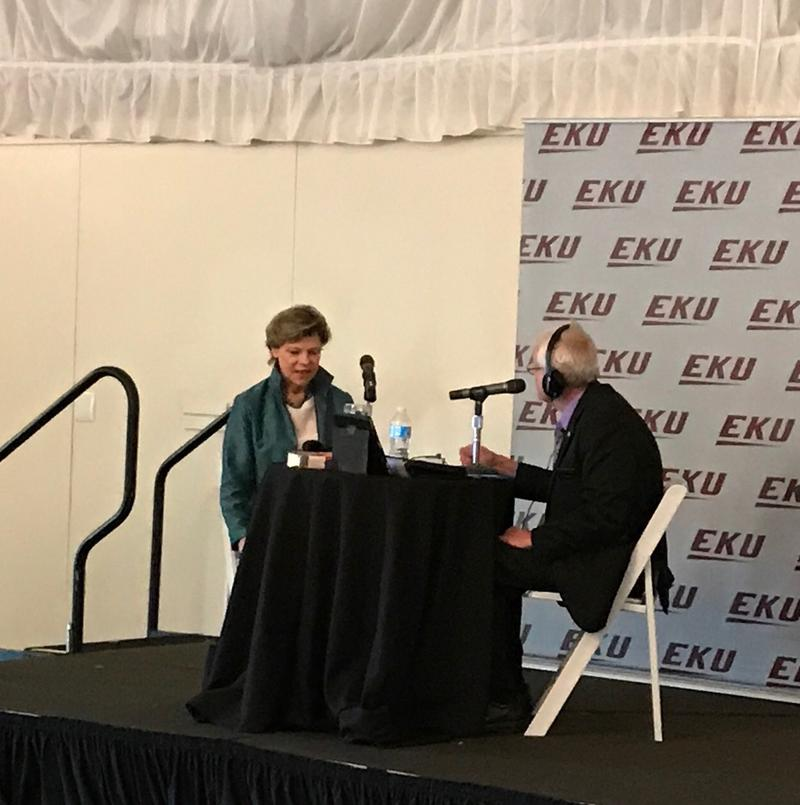 Cokie Roberts joined WEKU's John Hingsbergen for an on-location recording of Eastern Standard