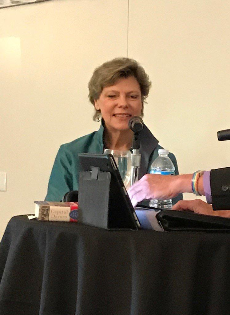 Cokie Roberts was our guest for an edition of WEKU's Eastern Standard