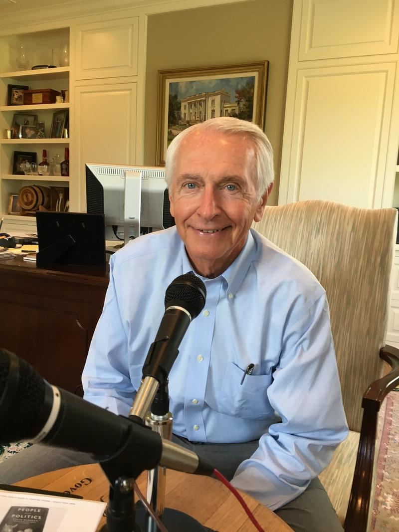 Former Kentucky Gov. Steve Beshear in his home office