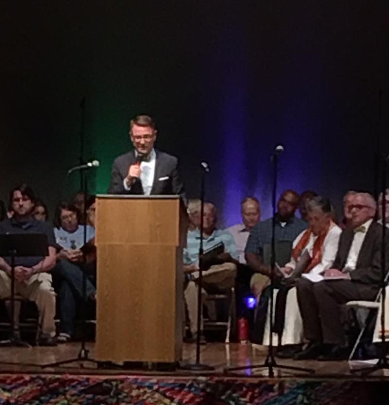 "Lexington Mayor Jim Gray delivered ""Civic Remarks"""