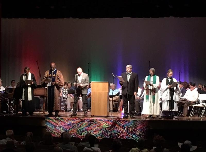 Representatives of various faith groups participated in the Pride Interfaith Service