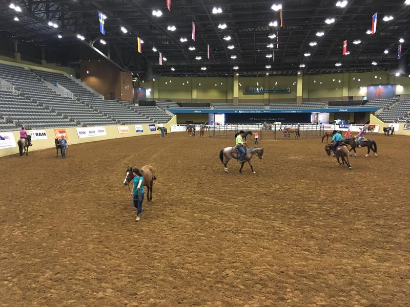 Pre-event practice in the All Tech arena