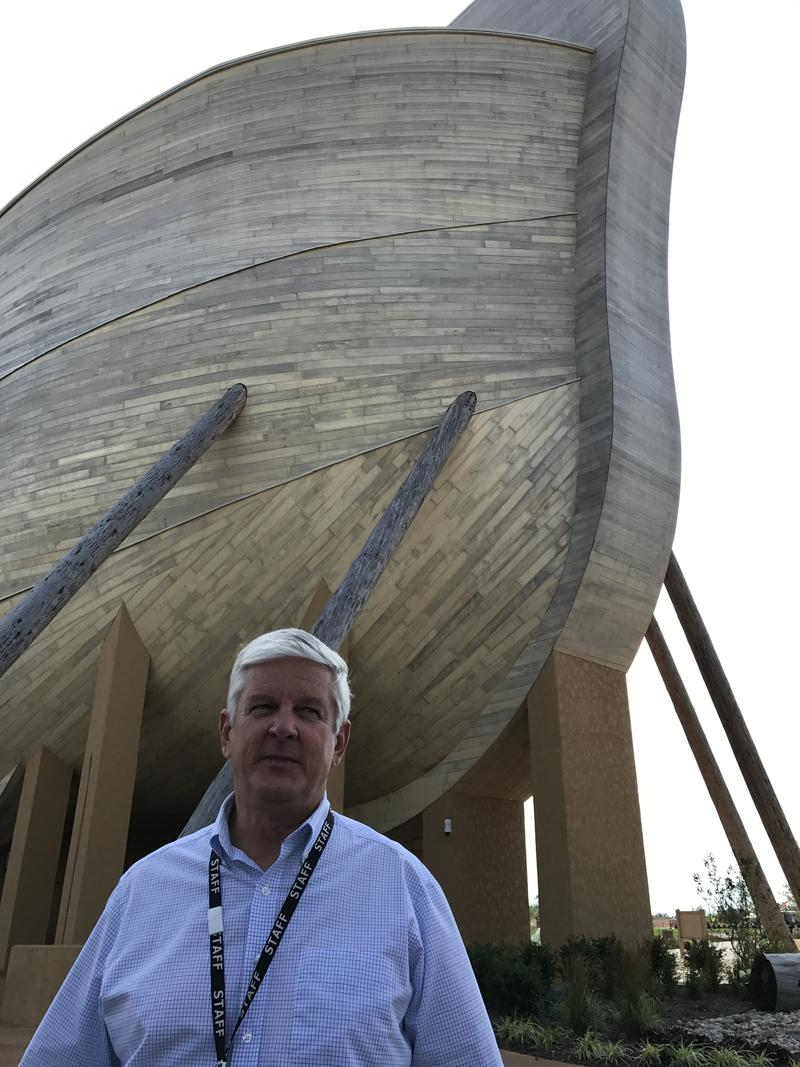 Patrick Kanewske, director of training and educ ation at the Ark Encounter