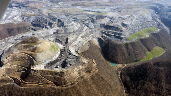 Wv strip mining