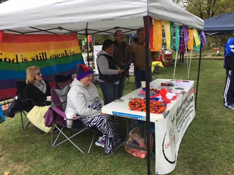 Lexington's Bluegrass United Church of Christ provided a booth