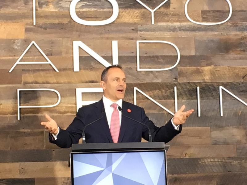 Governor Matt Bevin Participated in Toyota Event