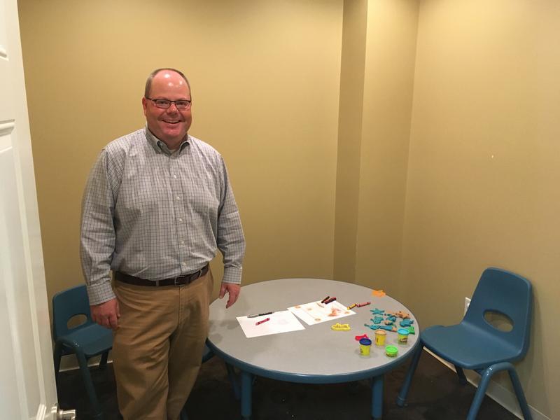Children's Advocacy Center of the Bluegrass Director Winn Stephens