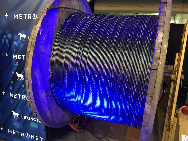 MetroNet expects to invest $70 to $100 million in its all-fiber Lexington network