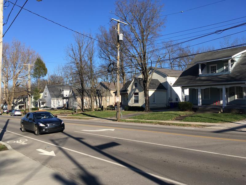 Houses Along Woodland Avenue