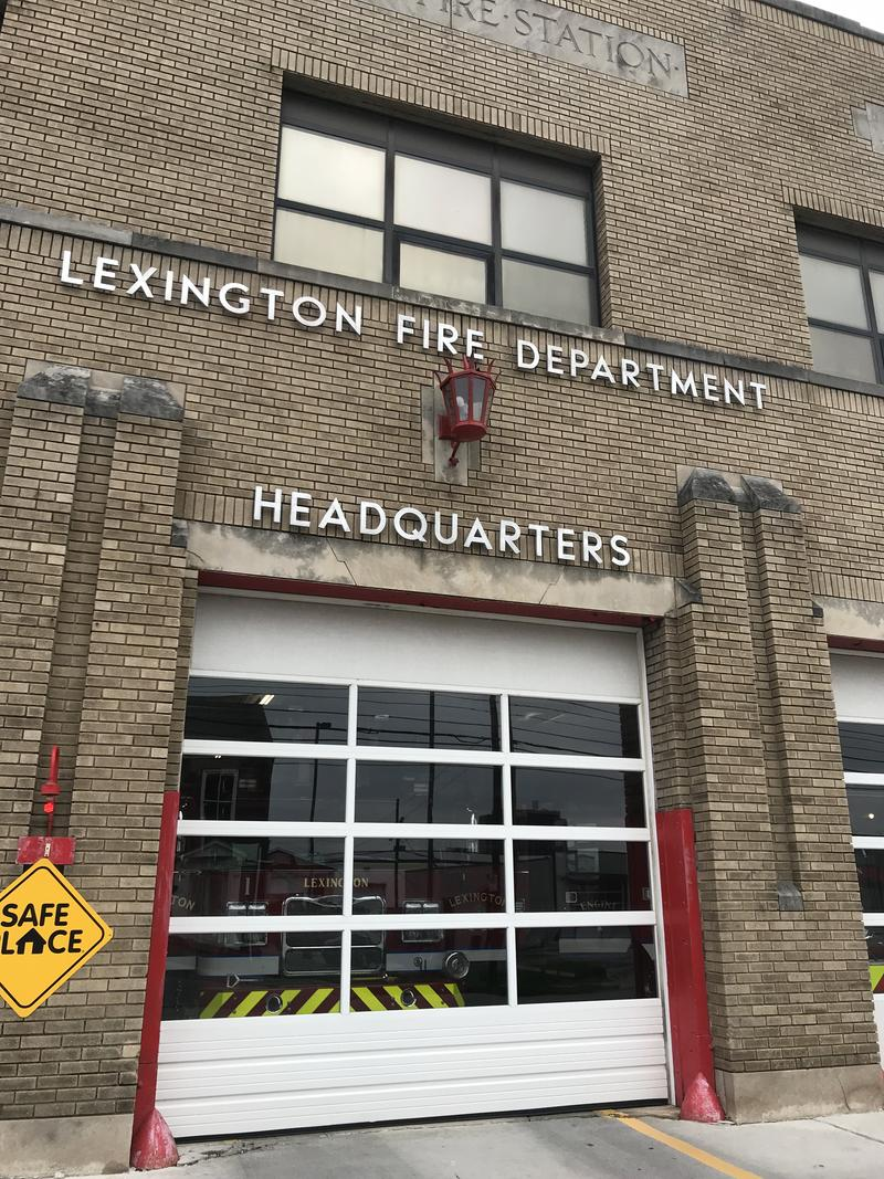 This one is Lexington's 4th oldest fire station.