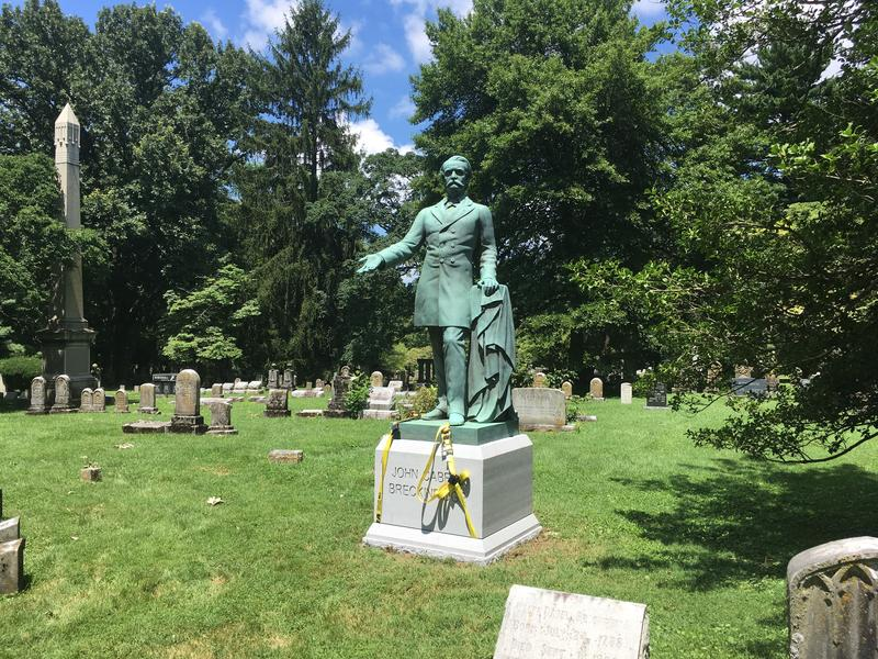 Statue of John Breckinridge in Lexington Cemetery