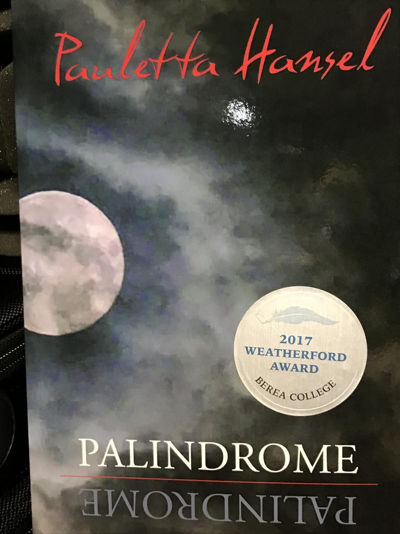 Pauletta Hansel's new book Palindrome