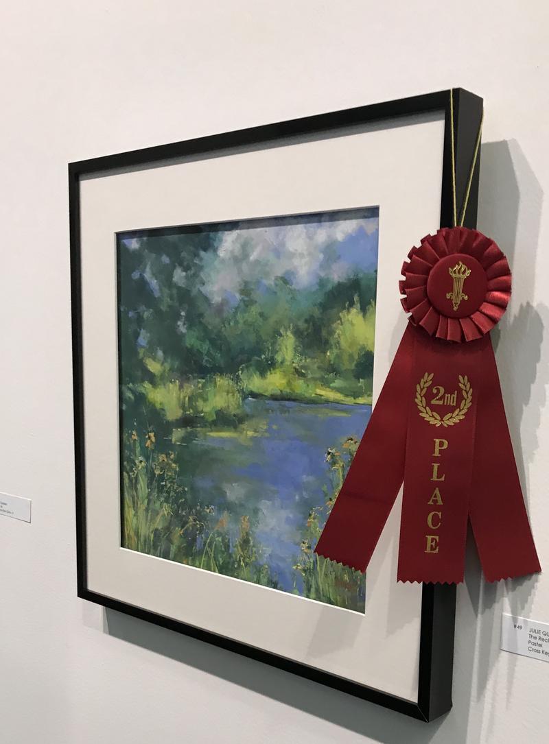 A painting of Cross keys Wetland