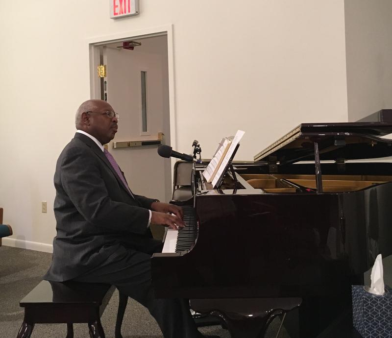 Reverend Blythe At The Piano
