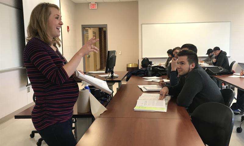 EKU's Dr. Beth Polin gets clear about exam details.