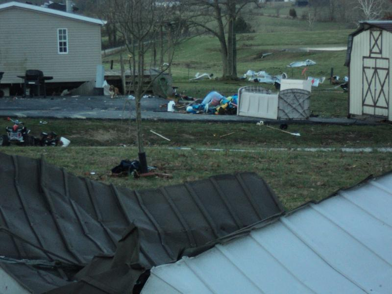 Tornado Damage in Bath County