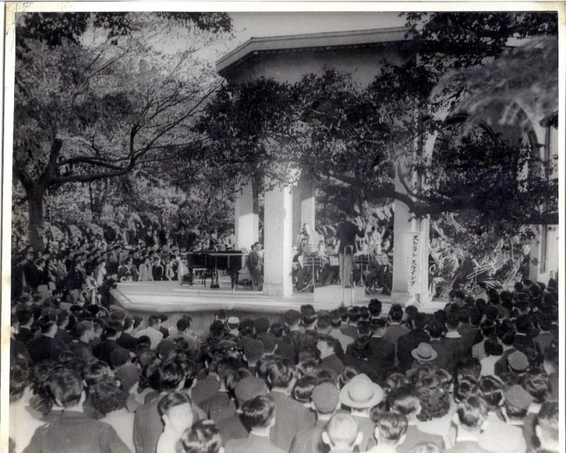 Hibya Park Tokyo Japan October 26 1952
