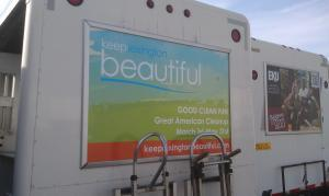 Keep Lexington Beautiful Truck