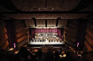 Orchestra Kentucky opens during Southern Kentucky Performing Arts Center during opening night Saturday March 10, 2012.