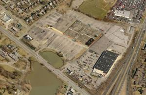 Aerial view of Southland property along Richmond Rd - from Bing.com