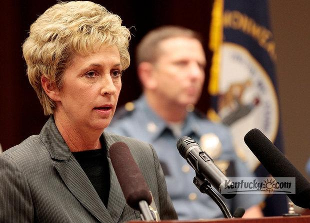 Fayette County Sheriff Kathy Witt discussed an internal investigation during a press conference on Thursday.