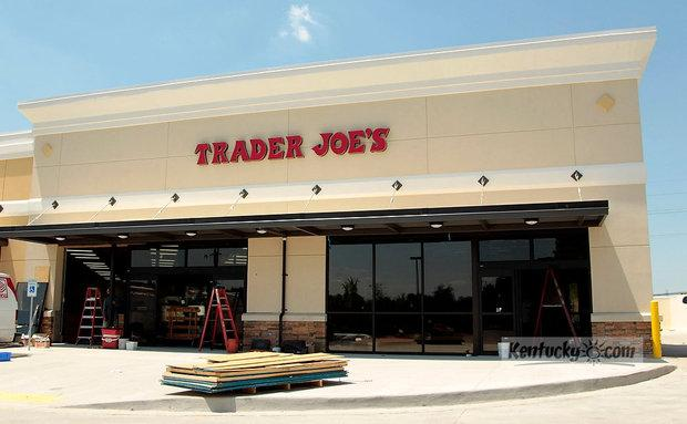 Exterior of Trader Joe's under construction on Nicholasville Rd. in Lexington, Ky., on May 16, 2012. Trader Joe's has announced it will open its Lexington store on June 29.