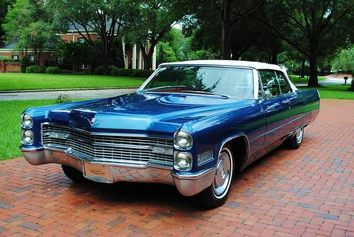 Just in case you were wondering, this is a 1966 Cadillac convertible.