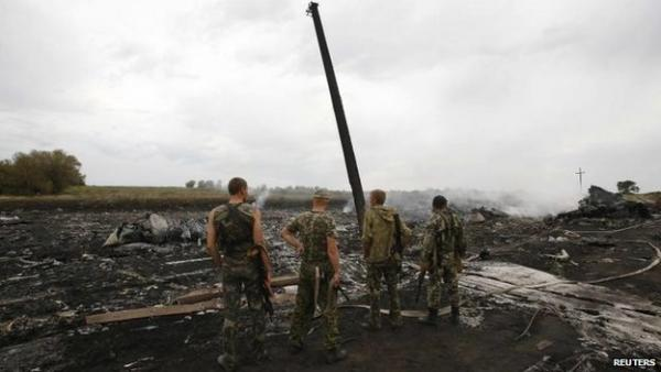 The crash site of the Malaysian Airliner is in an area controlled by Ukraine's separatist rebels