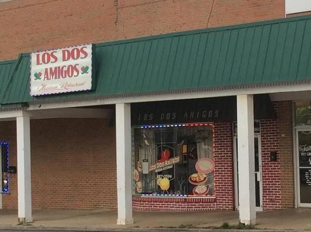 Los Dos Amigos Mexican Restaurant Nicholasville Menu