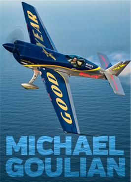 Aerobatics pilot Michael Goulian is among those scheduled to perform at Thunder over Michigan