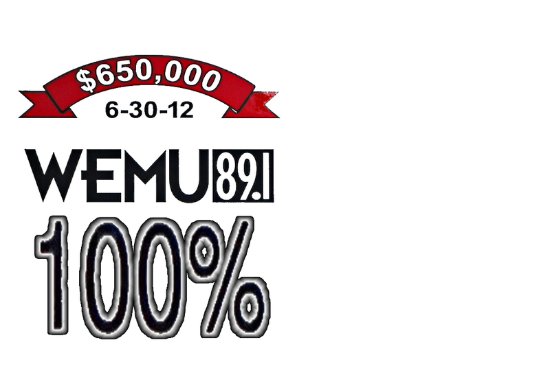 WEMU MAKES HISTORY WITH HIGHEST FUNDRAISING TOTAL EVER