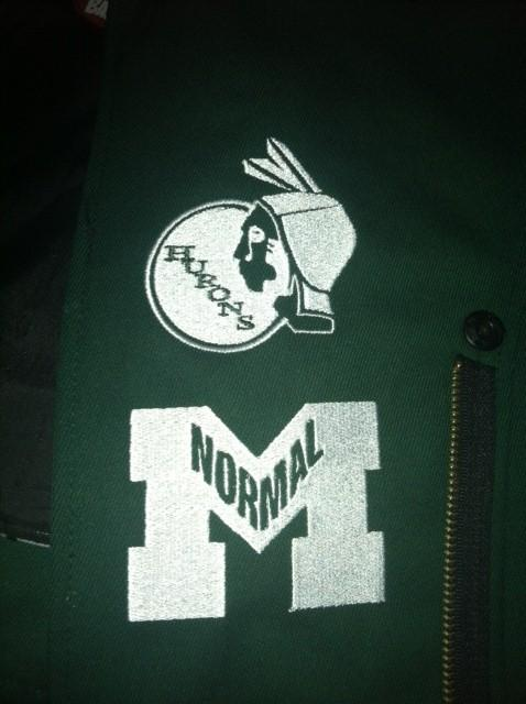 Hurons and Normalites logos adorn EMU's new marching band uniforms.