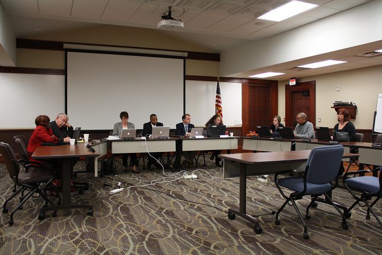 The Ypsilanti school board discusses consolidation.