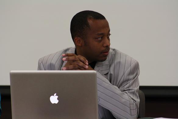 Ypsilanti public schools Superintendent Dedrick Martin