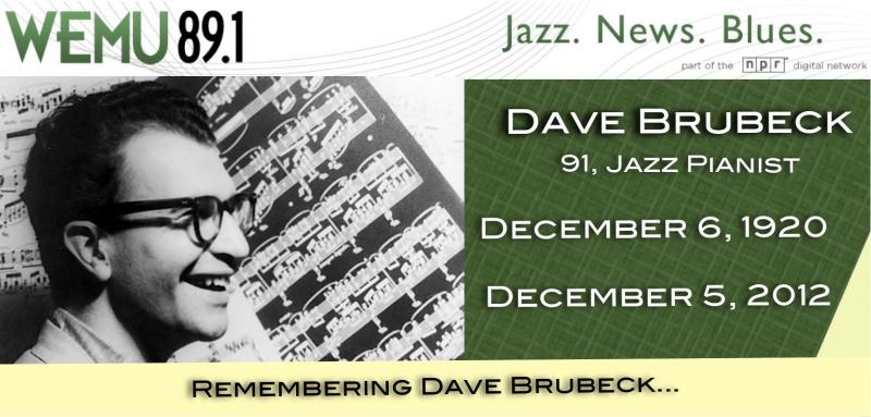 WEMU Remembers Dave Brubeck