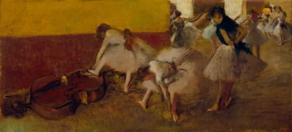 If Detroit does take its artwork to the auction block — which some philanthropists and foundations are trying to prevent — then this piece might sell for $20-$40 million, according to Christie's.  Dancers in the Green Room, Edgar Degas, c. 1879, oil