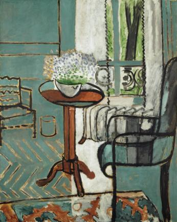 This 1916 Matisse is appraised at $40-$80 million.  The Window, Henri Matisse, 1916, oil on canvas.