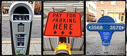 Parking meters in ann arbor