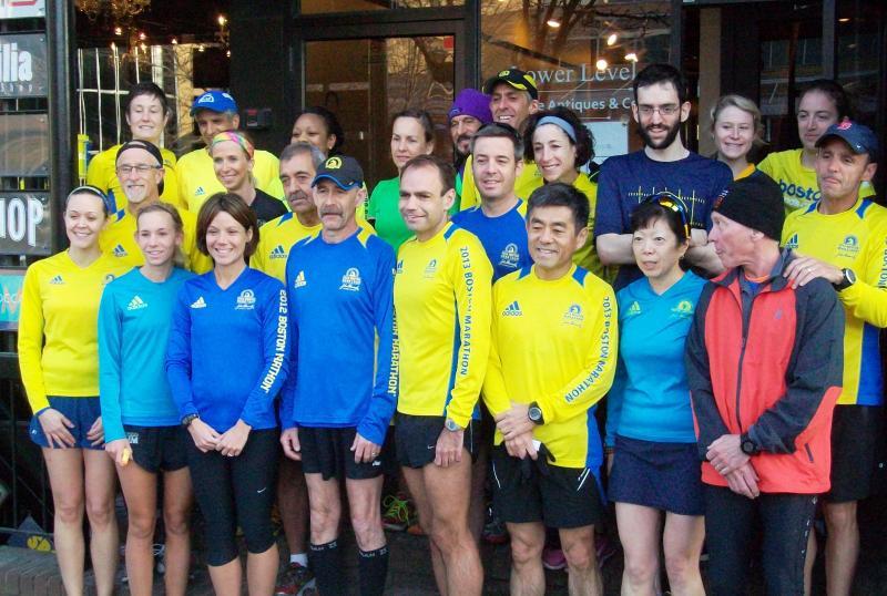 PR Fitness Boston Marathon Runners