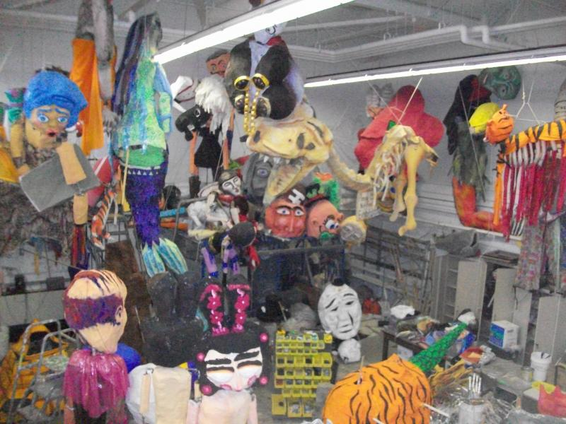 Festifools puppets