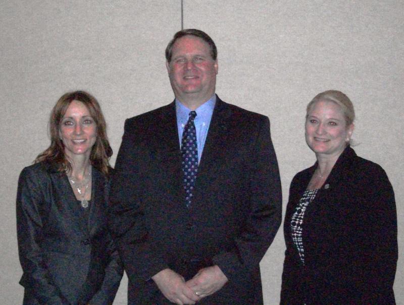 Tricia Kinley, Mike Johnston, Rebekah Warren