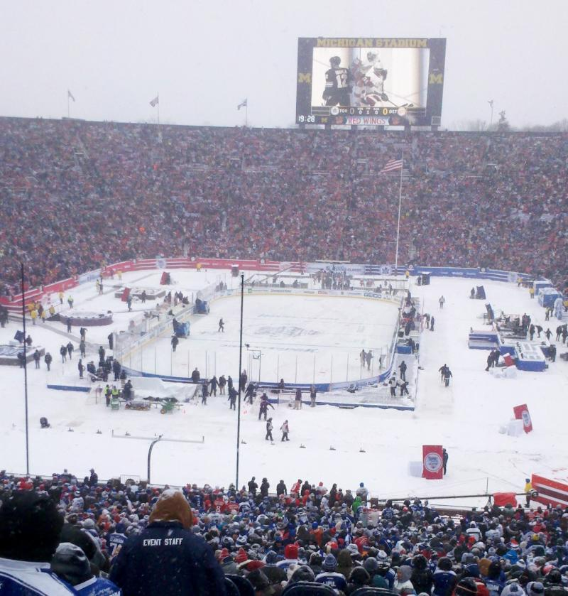 Winter Classic at Michigan Stadium