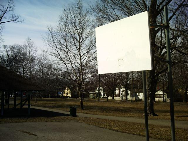 Prospect Park basketball court