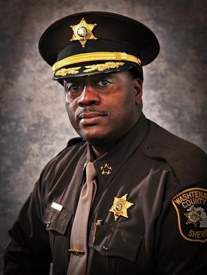 Washtenaw County Sheriff Jerry Clayton