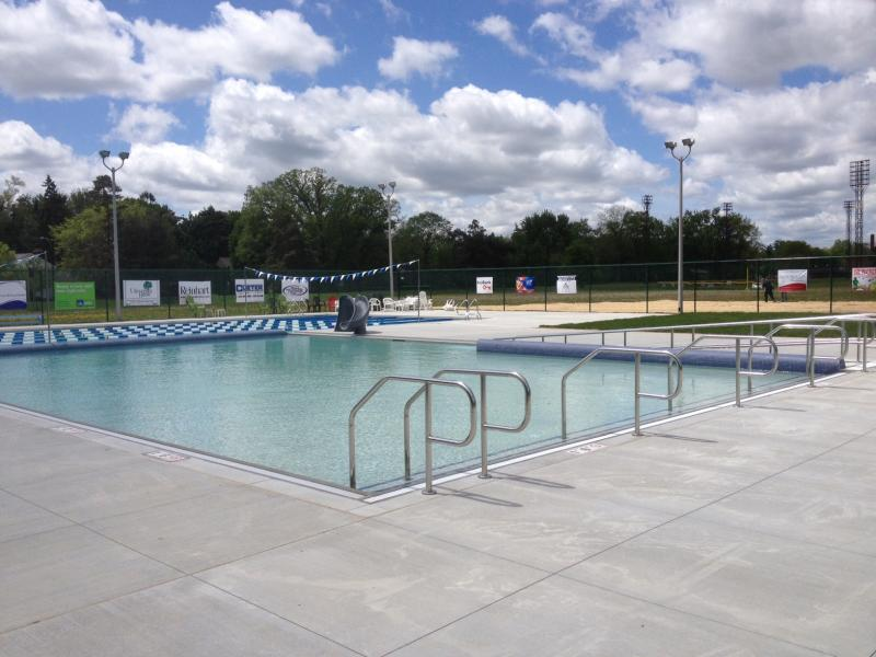 Ypsilanti's re-built Rutherford Pool